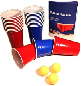 Beer Pong Becher Set
